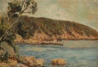 coastal landscape by robert richmond campbell