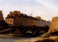 pont à lyon by françois amédée gabillot