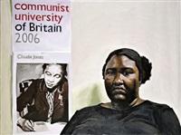 portrait of sheltreese mccoy, communist party of usa by yevgeniy fiks