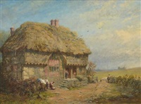 a country cottage by james john hill