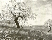 the apple orchard by ernst dorn