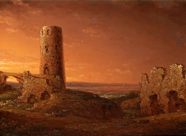 stegeborgs ruiner by carl johan fahlcrantz