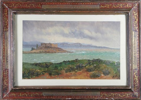 vue du fort carré à antibes by laurent adenot