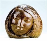 cabeza de mujer by arturo acebal idigoras