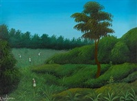 workers in the field by raymond dorleans