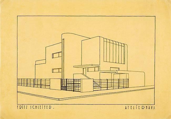 atelierhaus by fritz schleifer
