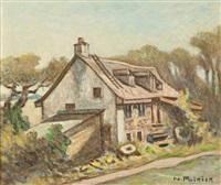 vieux moulin lorette by narcisse poirier
