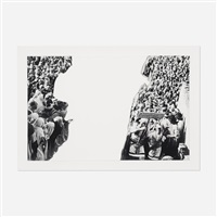 crowds with shape of reason missing, example 3 by john baldessari