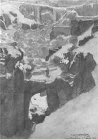 ponts de constantine by francois marie léon de marliave