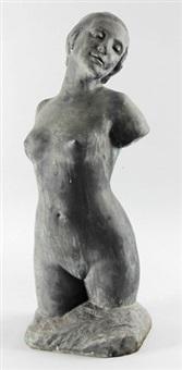 weiblicher torso by rudolf kaesbach