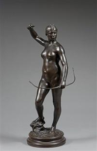 diane chasseresse by jean alexandre joseph falguière