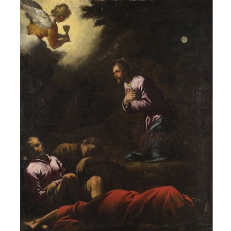 agony in the garden by domenico tintoretto