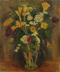 bouquet de fleurs by michel adlen