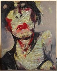 portrait de femme by lita cabellut