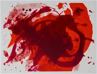 passionate winner (from the official arts portfolio of the xxivth olympiad, seoul, korea) by kazuo shiraga