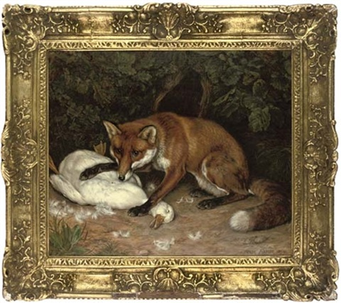 the fox and goose by frank paton