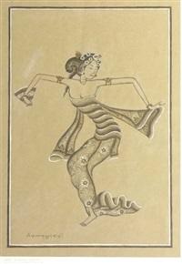 a female dancer by ida bagus anom