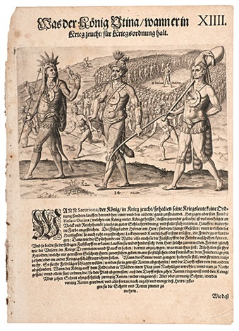 early indian engravings 3 works by johann theodor de bry