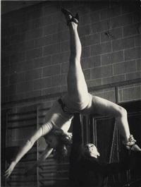 école d'acrobatie, c. 1933 by brassaï
