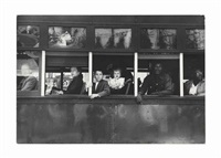trolley - new orleans by robert frank