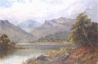 highland loch landscape by h. k. foster