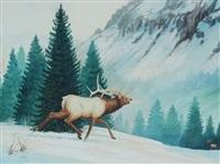 elk by ralph oberg