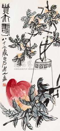 贵亦寿 by qi baishi