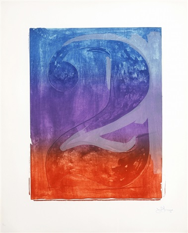 figure 2 from color numeral series by jasper johns