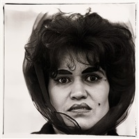 puerto rican woman with a beauty mark, nyc, 1965 by diane arbus