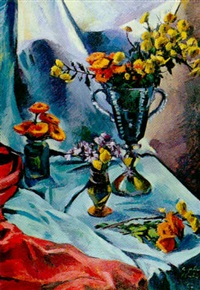 bodegón de flores by alberto fabra