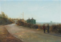 afternoon walk, howth by paul kelly