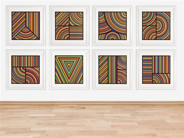 Bands of Color Sol Lewitt