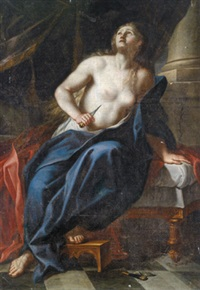 lucrezia by francesco giovanni gessi