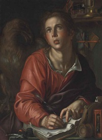 saint john the evangelist by joachim anthonisz wtewael