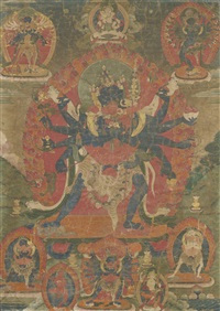 a thangka depicting chakrasamvara by anonymous-tibetan (19)
