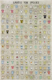 labels for species, 2004 by simon evans