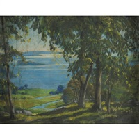 river marsh by h. saxton burr