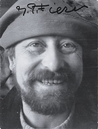 self-portrait by gerard fieret