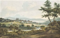 an extensive italianate landscape by john warwick smith