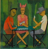 the card game by william walton