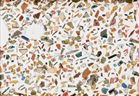 fragmentos. serie paletas by carmen calvo
