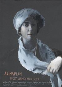 portrait de mathilde baviers by arthur chaplin