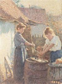 les lavandières by emile ancelet