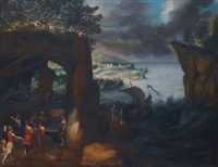 ulysses at the court of alcinous by paul bril
