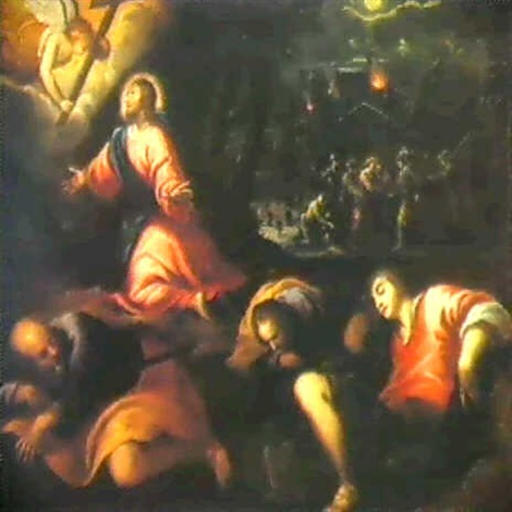 christ in the garden of gethsemane. Christ In The Garden Of Gethsemane By Jacopo Palma Il Giovane