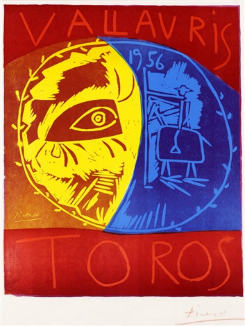 vallauris toros by pablo picasso