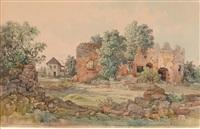 ruine der burg muran in der slowakei by thomas ender