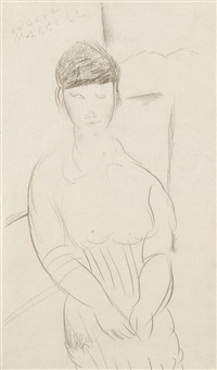 angele mikcele by amedeo modigliani