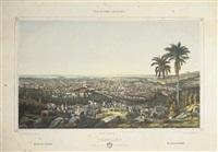trinidad, vista general tomada desde la loma de la vijia - isla de cuba pintoresca by eduardo laplante