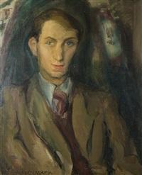 portrait jean pierre wilhelm, düsseldorf by lou (lazar) albert-lazard